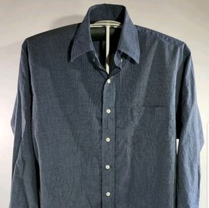 Brooks Brothers Long Sleeve Button Down Shirt Navy